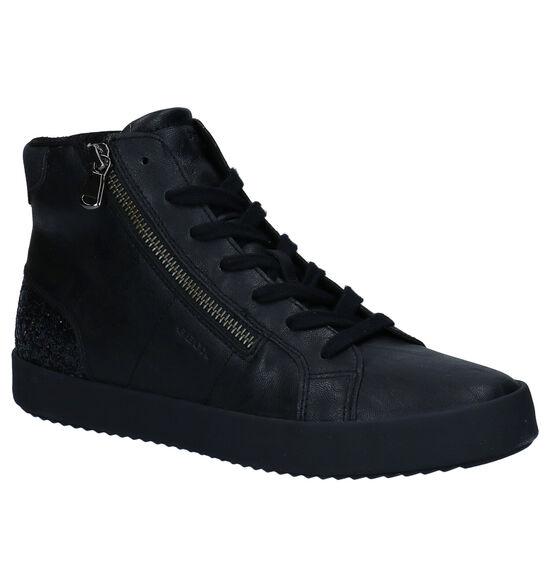Geox Baskets Haute en Noir