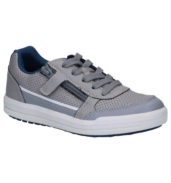 Geox Arzach Chaussures à lacets en Gris