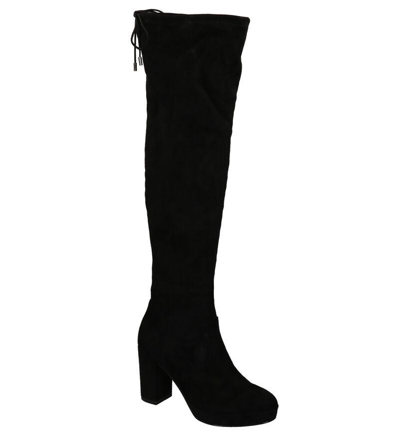 Tamaris Zwarte Lange Laarzen in stof (262730)