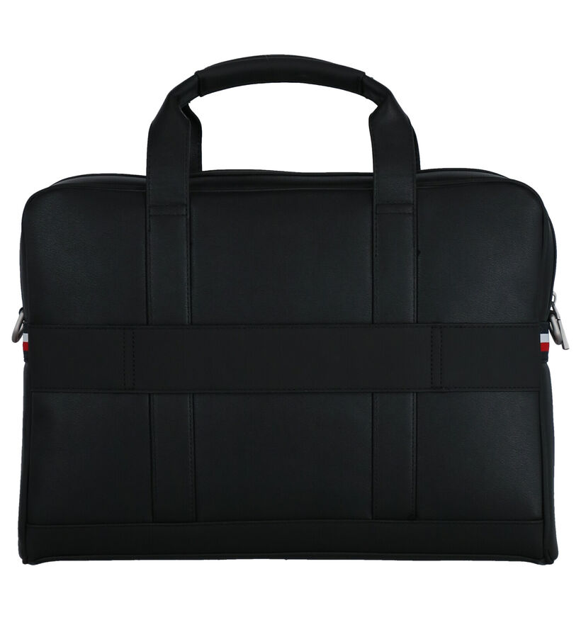 Tommy Hilfiger TH Metro Zwarte Laptoptas in kunstleer (264606)