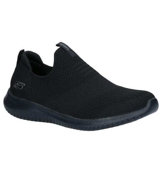 Skechers Ultra Flex Zwarte Slip-on Sneakers