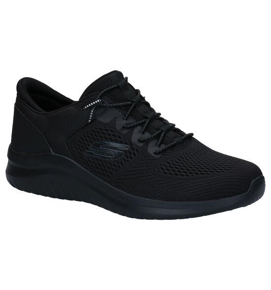Skechers Ultra Flex Zwarte Sneakers