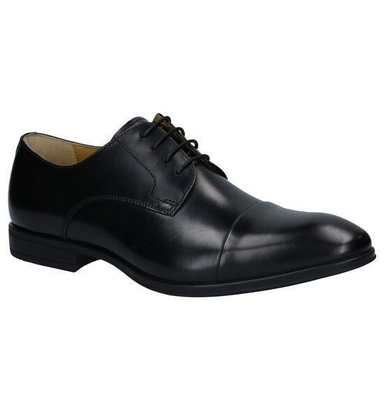 Steptronic Franco Chaussures à lacets en Noir