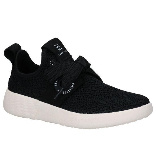 Armistice Volt One Zwarte Slip-on Sneakers