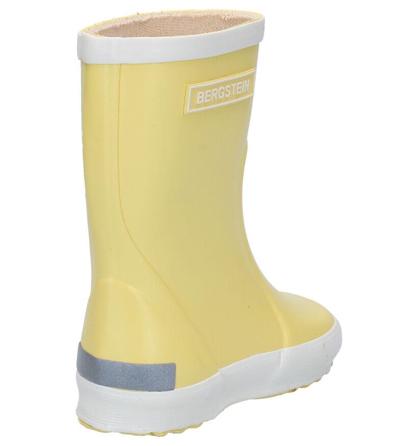 Bergstein Gele Regenlaarzen in rubber (280577)