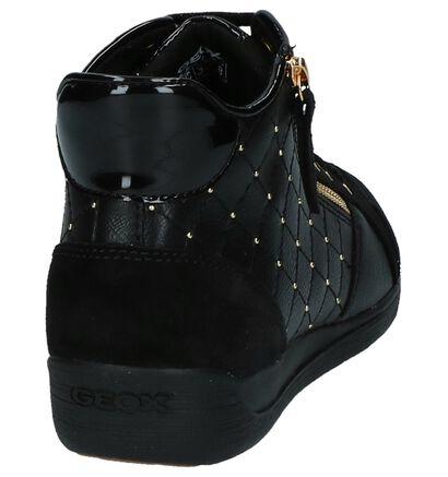 Zilveren Geklede Sneakers Geox Myria in imitatieleer (240303)