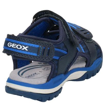 Donkerblauwe Sandalen Geox in kunstleer (267484)