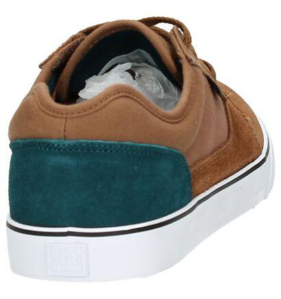 DC Shoes Tonik Zwarte Lage Skate Schoenen, Cognac, pdp