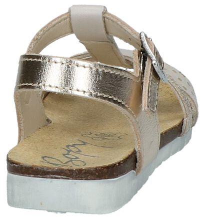 Bopy Sandales en Or en cuir (211720)
