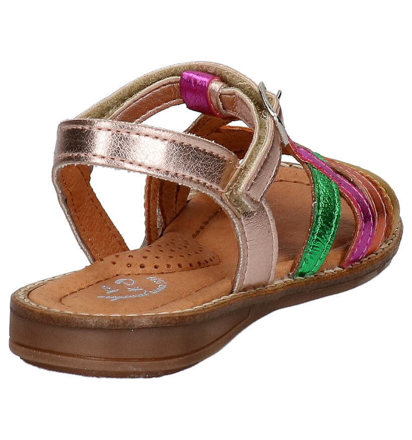 Little David Sandra Multicolor Sandalen in leer (273170)