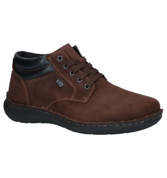 Rieker Chaussures hautes (Brun foncé)