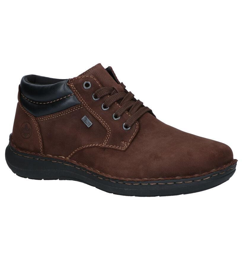Rieker Bruine Boots in nubuck (262177)