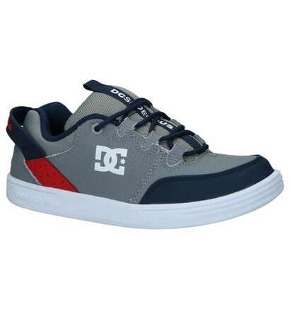 DC Shoes Skate sneakers en Gris en cuir (235132)