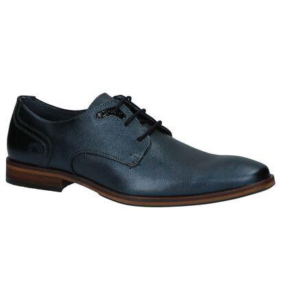 Bullboxer Chaussures habillées en Bleu foncé en cuir (210409)
