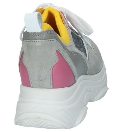 Poelman 90's Sneakers Meerkleurig in nubuck (229912)