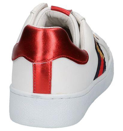 Via Limone Baskets basses en Blanc en cuir (225878)