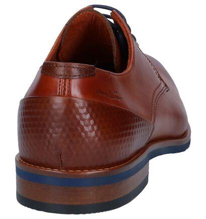 Van Lier Chaussures habillées en Cognac en cuir (241086)