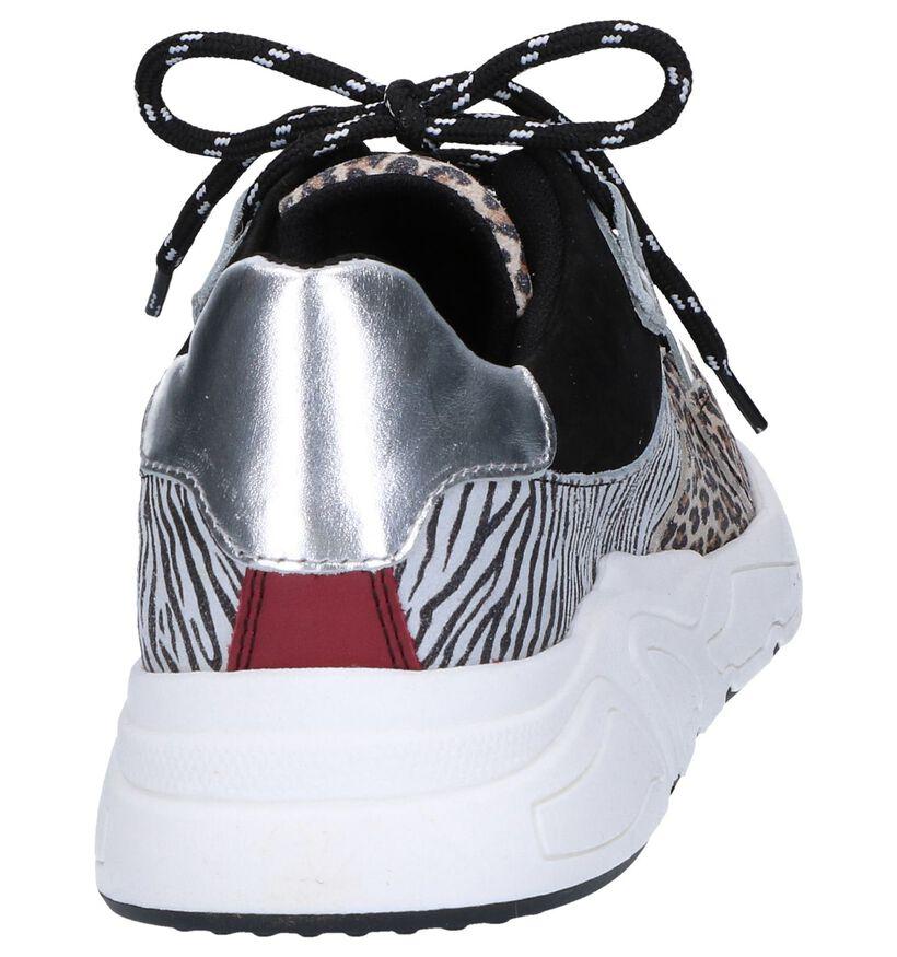 Poelman Baskets basses en Noir en simili cuir (263966)