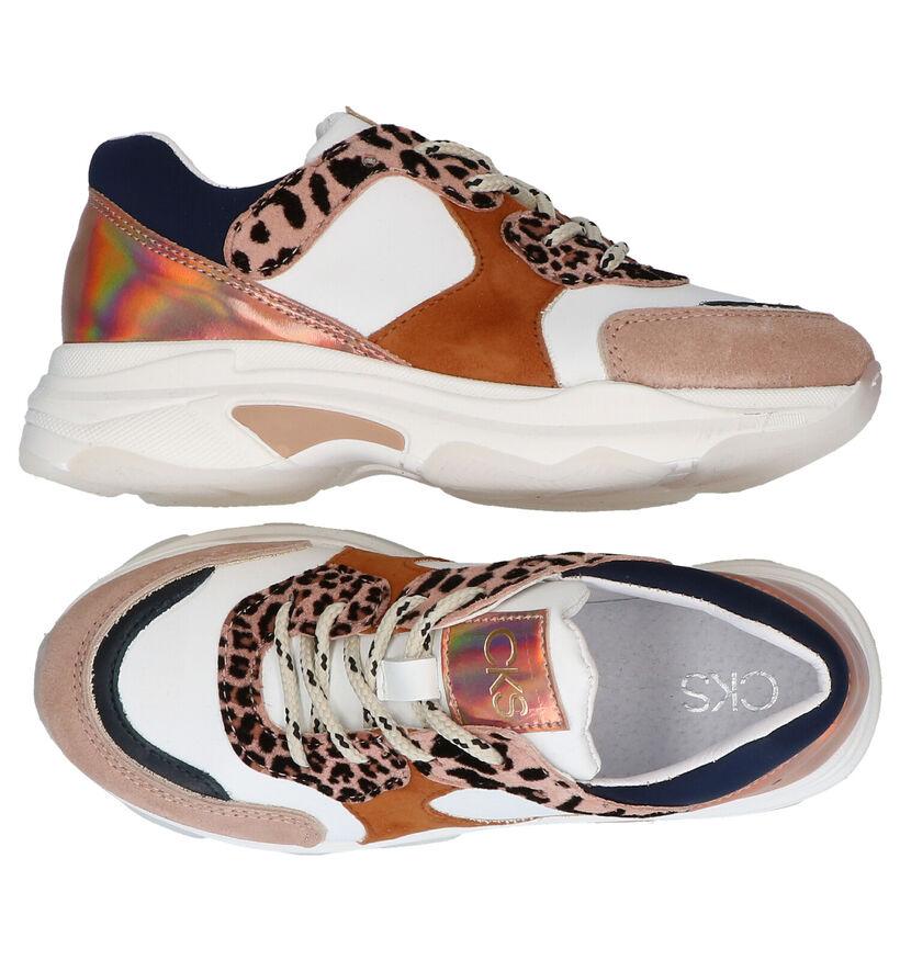 CKS Craco Multicolor Sneakers in daim (286719)