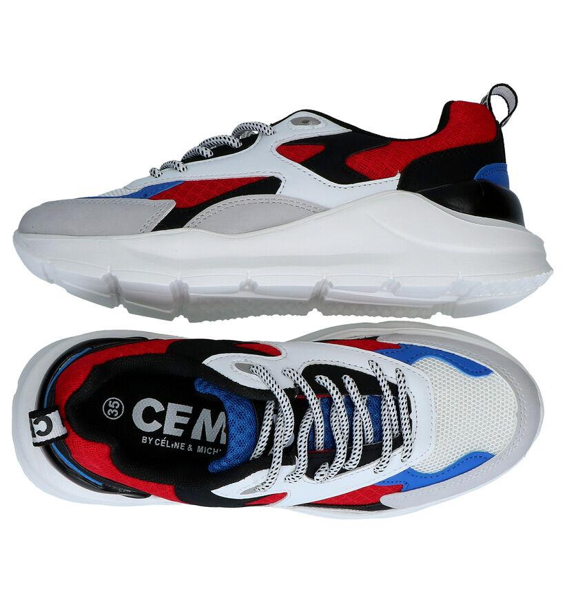 CEMI Meerkleurige Sneakers in kunstleer (289839)