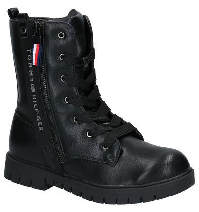 Tommy Hilfiger Chaussures hautes en Noir en cuir (256950)