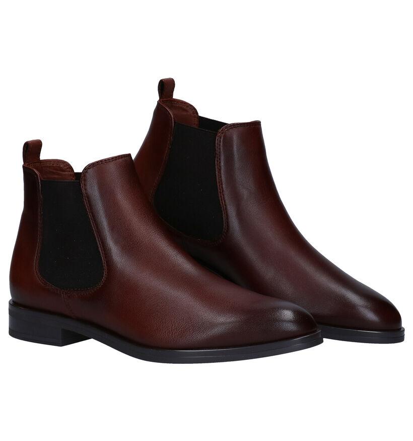 Hampton Bays Bruine Chelsea Boots in leer (277833)