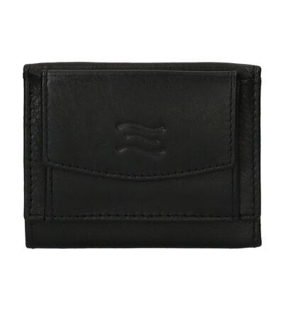 Crinkles Étuies en Noir en cuir (250609)