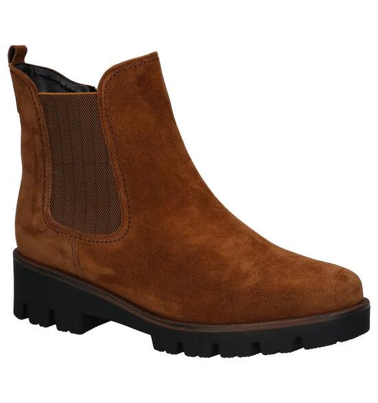 Gabor OptiFit Cognac Chelsea Boots