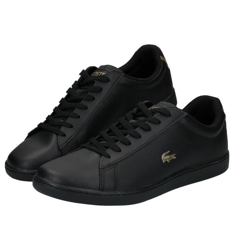 Lacoste Carnaby Evo Zwarte Sneakers in kunstleer (277661)