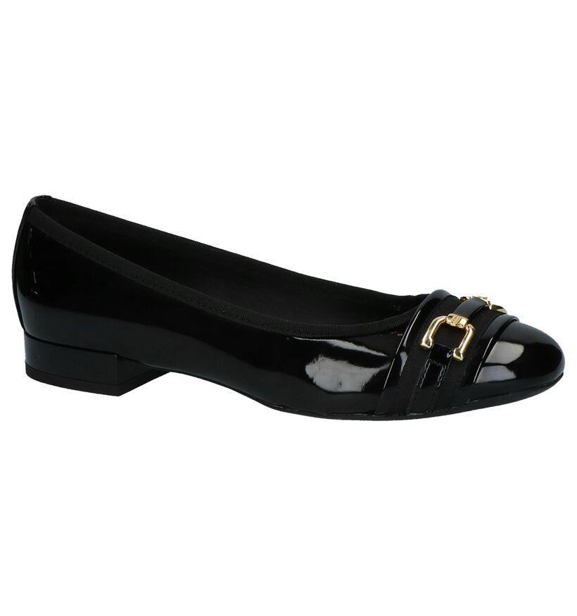 Geox Ballerines en Noir en simili cuir (223044)