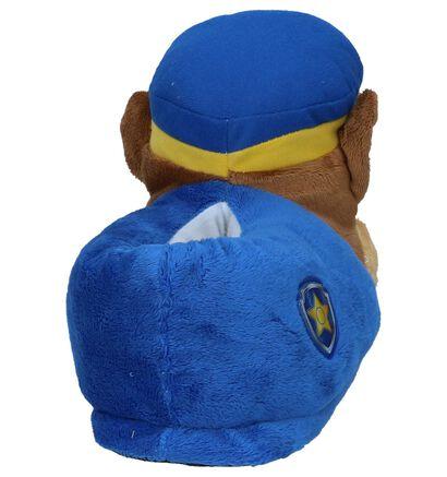 Paw Patrol Pantoufles fermées en Bleu foncé en textile (232442)