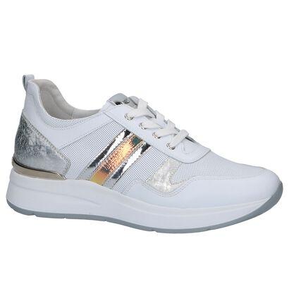 Witte Geklede Sneakers NeroGiardini in kunstleer (240763)