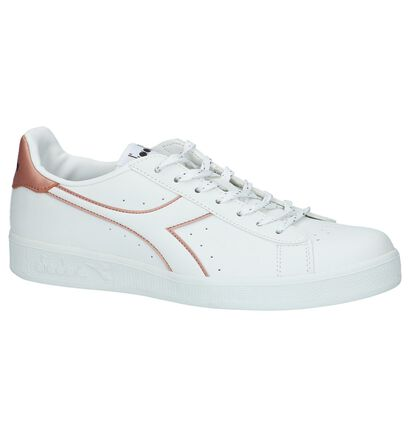 Diadora Witte Lage Sportieve Sneakers, Wit, pdp