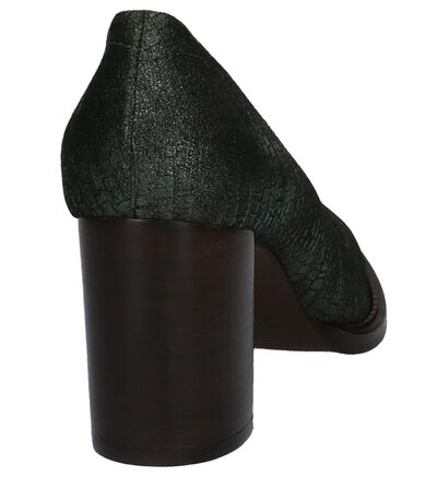 Groene Pumps Zinda in daim (226930)