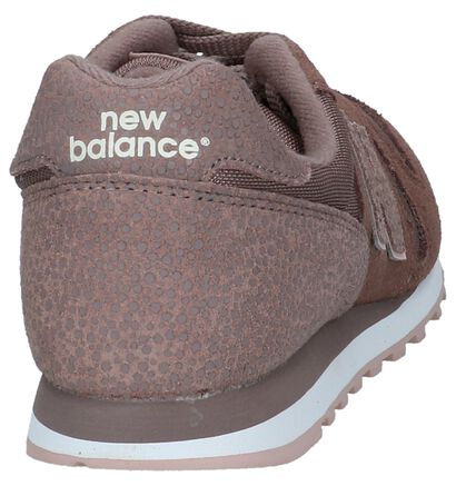 Zwarte Sneakers New Balance WL373 in daim (238172)