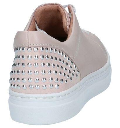 Tamaris Baskets basses en Rose clair en cuir (214189)