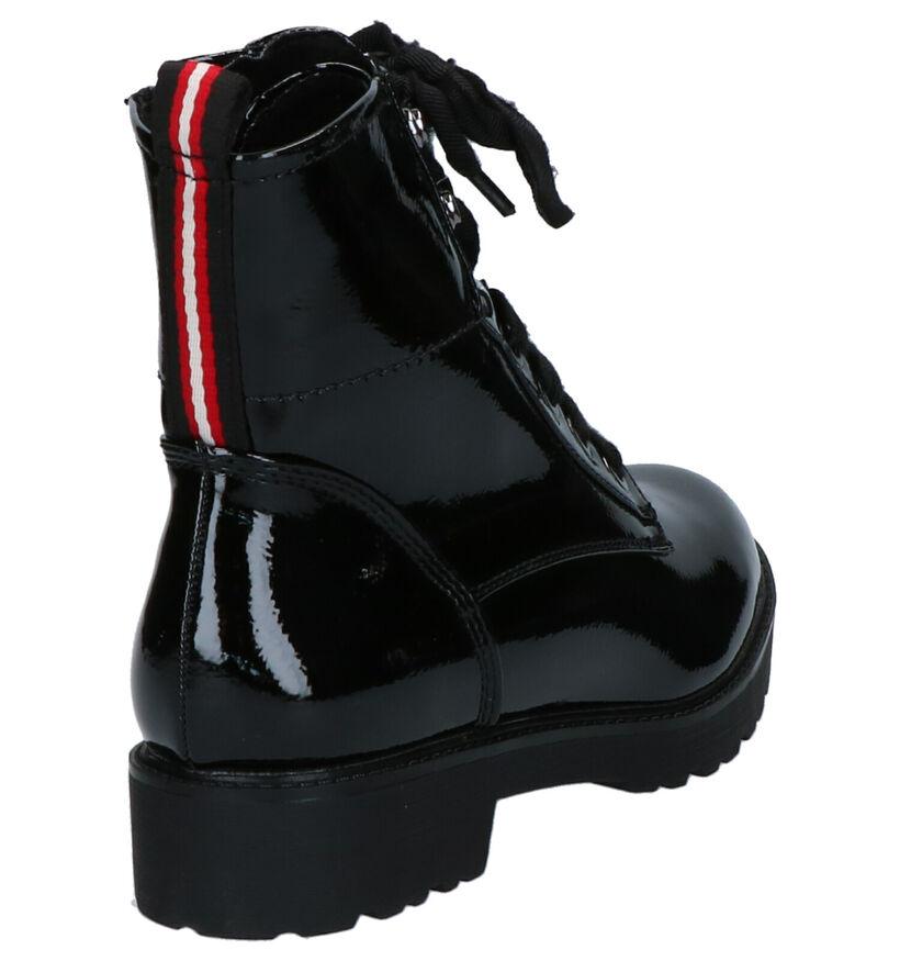 Youh! Zwarte Boots in lakleer (255754)