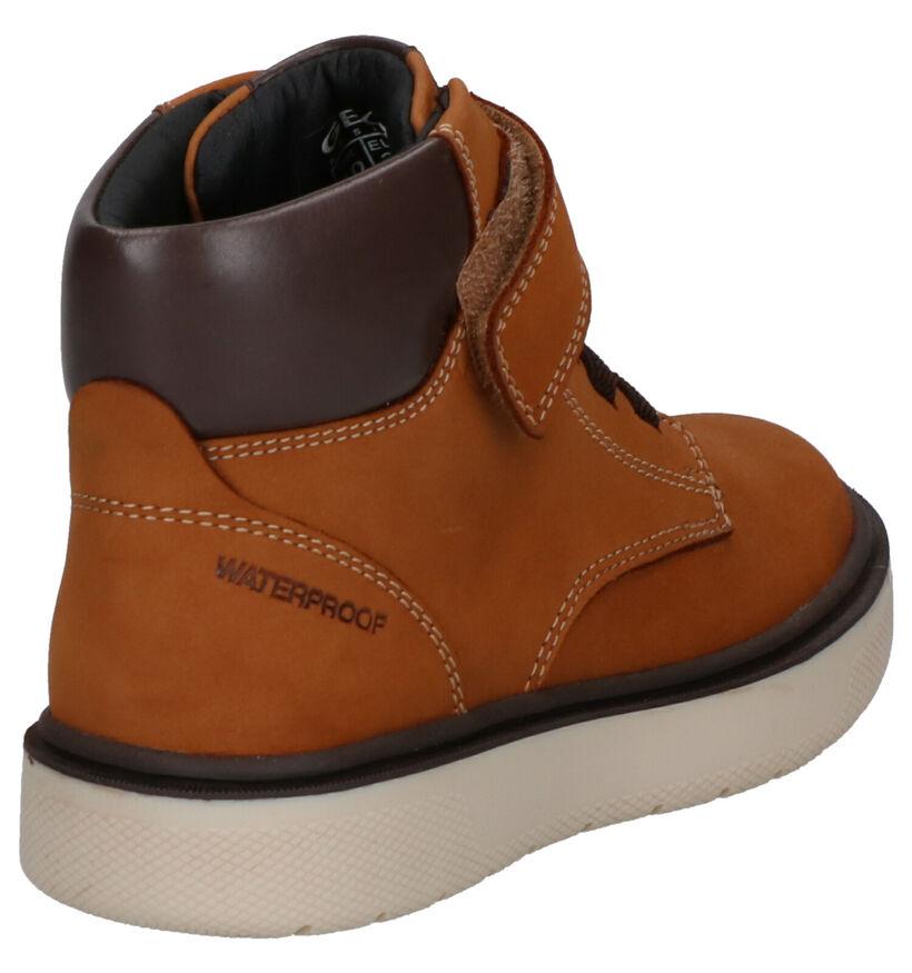 Geox Chaussures hautes en Cognac en cuir (254509)