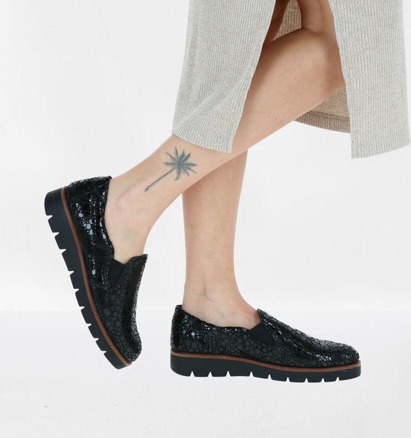 Mirel Chaussures slip-on en Noir en cuir verni (279838)