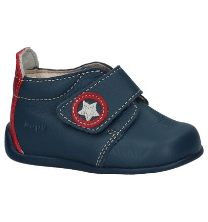 Bopy Chaussures hautes en Bleu en cuir (242846)
