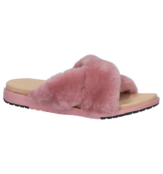 EMU Nu-pieds plates en Rose clair