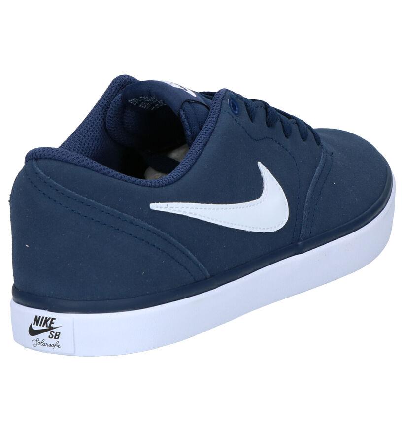 Nike SB Baskets de skate en Noir en daim (250315)