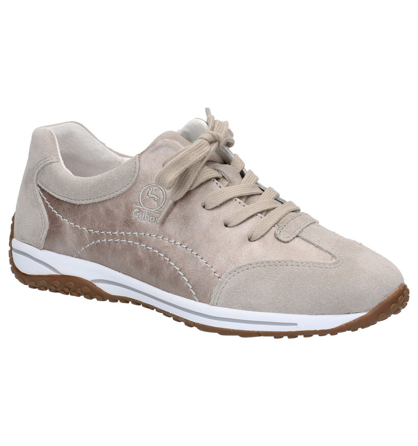 Gabor OptiFit Chaussures à lacets en Bronze en nubuck (271695)