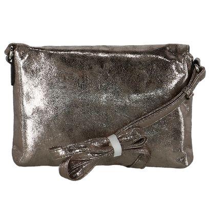 Zilveren Crossbody Tas Gabor Ella in kunstleer (225981)