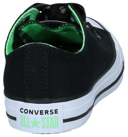 Lage Sportieve Sneakers Converse Chuck Taylor All Star Big Eyelets, Zwart, pdp
