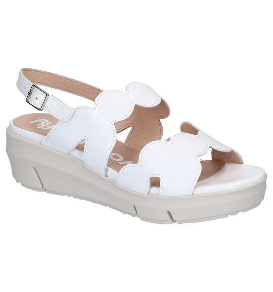 Wonders Sandales à talons en Blanc