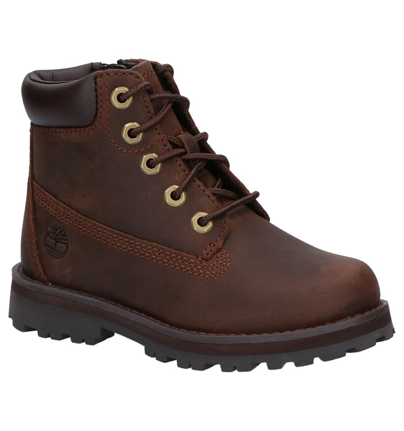 Timberland Courma Kid 6 Inch Bottines en Brun en nubuck (254744)