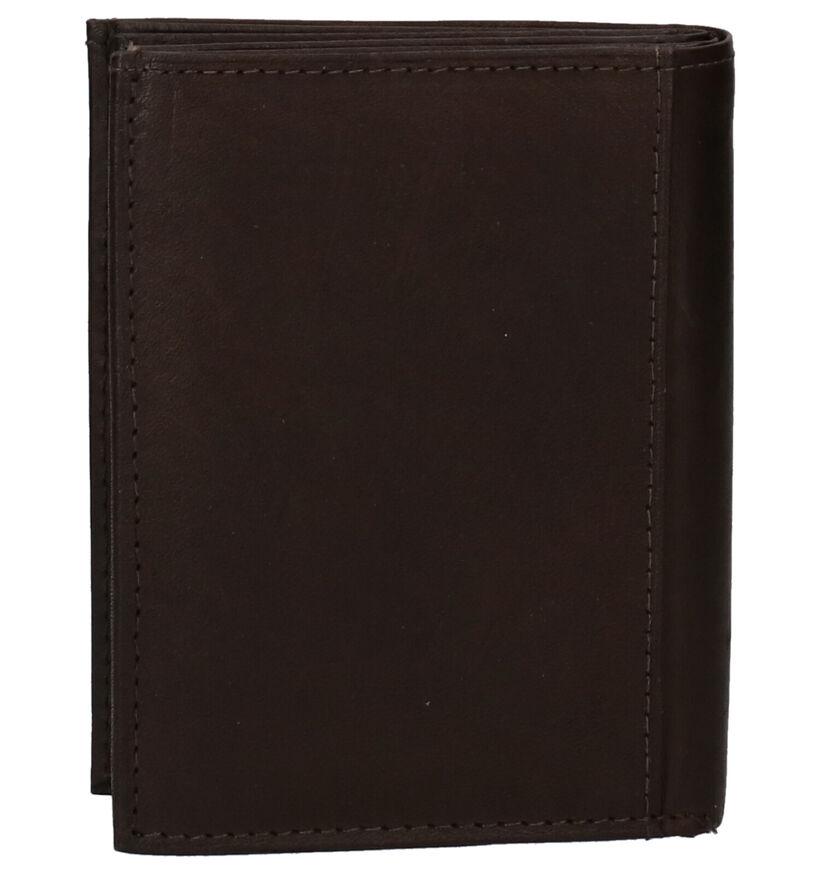 Euro-Leather Portefeuilles en Noir en cuir (275657)