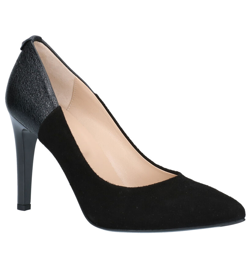 NeroGiardini Zwarte Pumps in leer (259955)