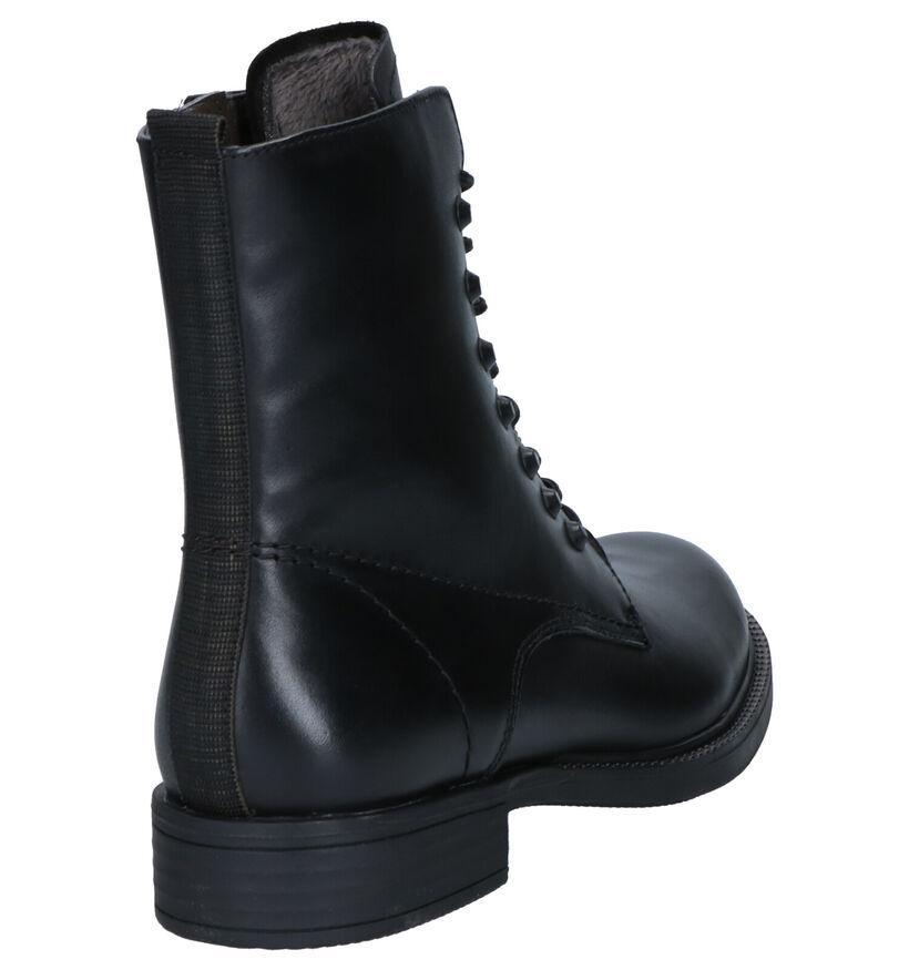 Tamaris TOUCH it Zwarte Boots in leer (257156)